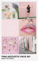 Pink Aesthetic Pack 001 by Mermaid Awkward