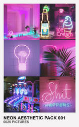 Neon Aesthetic Pack 001 by Mermaid Awkward