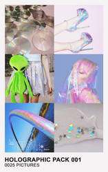 Holographic Pack 001 by Mermaid Awkward