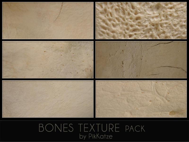 Bones Texture Pack by PikKatze
