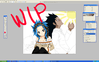 WIP - GaLe colouring