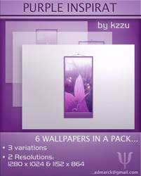 Purple Inspirat  - Wallpaper