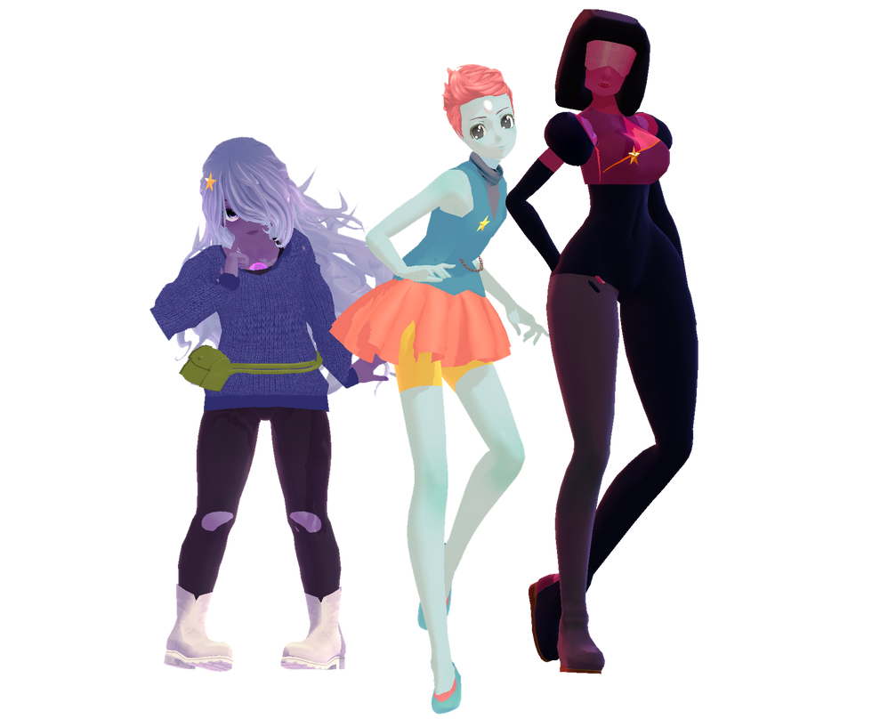 {MMD} Pilot Crystal Gems [SU] (Download) by YikesDepartment