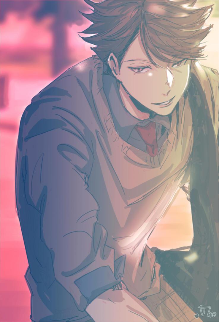 You're Annoying! |Oikawa Tooru x Male!Reader| by Hideaki-Miyazaki on