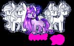 FREE Addons Hair10 for pony by BaseAdopts - F2U