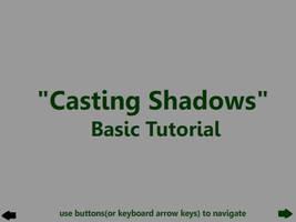 'Casting Shadows' Tutorial by Ratrien