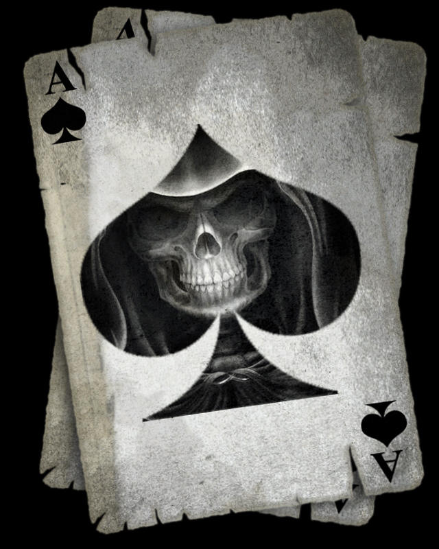 card skull by isaac-ulrich
