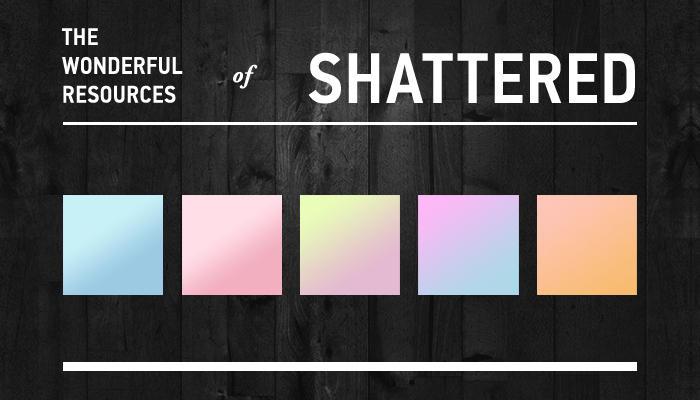 Pastel Gradients by shattereddesigns07