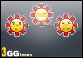 Gadu-Gadu Dock Icons by bartoszf