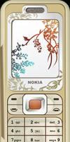 Nokia 7360 vector by bartoszf