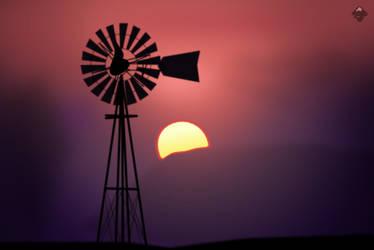 Sunset SVG 2 by bartoszf