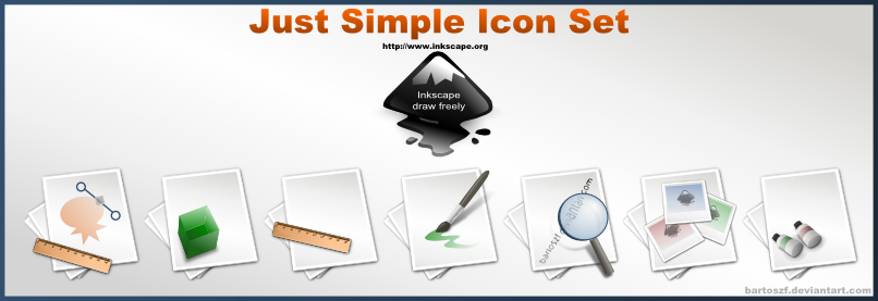Just Simple SVG Icon Set by bartoszf