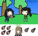 [Walfas Custom] Assault Lily CHARM [Mazu Relic]