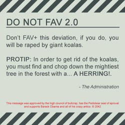 DO NOT FAV by sottho