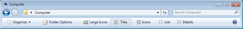 Windows 7-Vista StylerToolbar