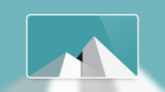 White Pyramid Wallpaper 4K