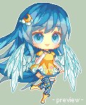 Pixel Luna by tokkisu