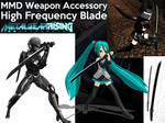 MMD Accessory - Raiden's High Frequency Blade