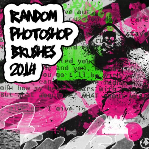 Random Photoshop Brushes Ana Style by BaBYDoLLx66