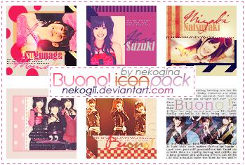 Buono - Icon Pack no 1 by Nekogii