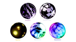 MMD Abstract Skydomes Pack 4