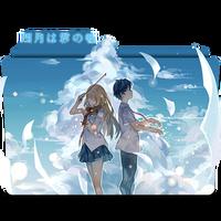 Icon Folder - Shigatsu Wa Kimi No Uso (2) by alex-064