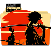 Icon Folder - Samurai Champloo by alex-064