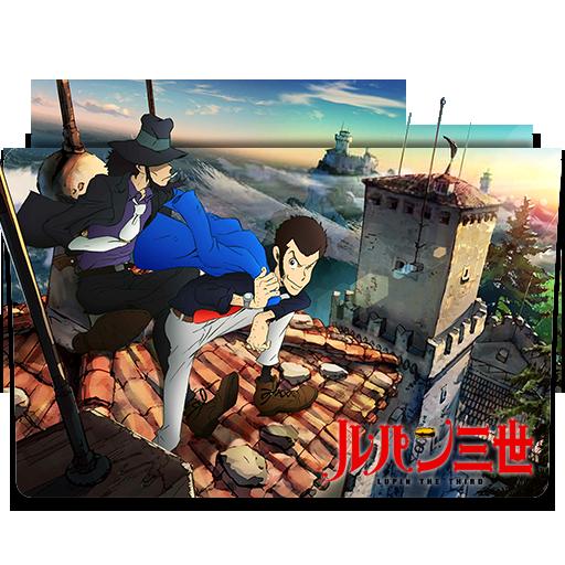 """Képtalálat a következőre: """"Lupin the Third (2015) ico"""""""