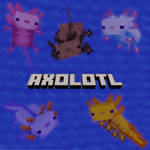 Minecraft - Axolotl Rigged Model