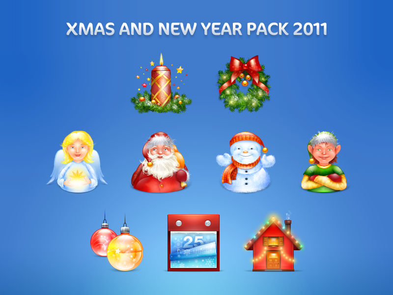 Xmas and New Year pack