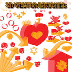 3D Objects - Vector Brushes