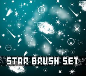 Star Brush Set by Z4m0lx3