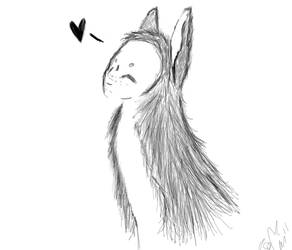 Happy Deer 'love' by For-Two-Lifetimes