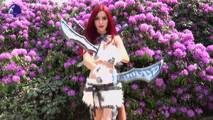 LoL: Kitty Cat Katarina (Animated Gif + Video) by Edenfilms