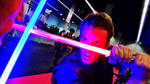Star Wars Lightsaber Fight 3 (Animated Gif+ Video)
