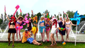 Gif+Video: League of Legends - Pool Party 1