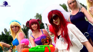 Gif+Video: League of Legends - Pool Party +1