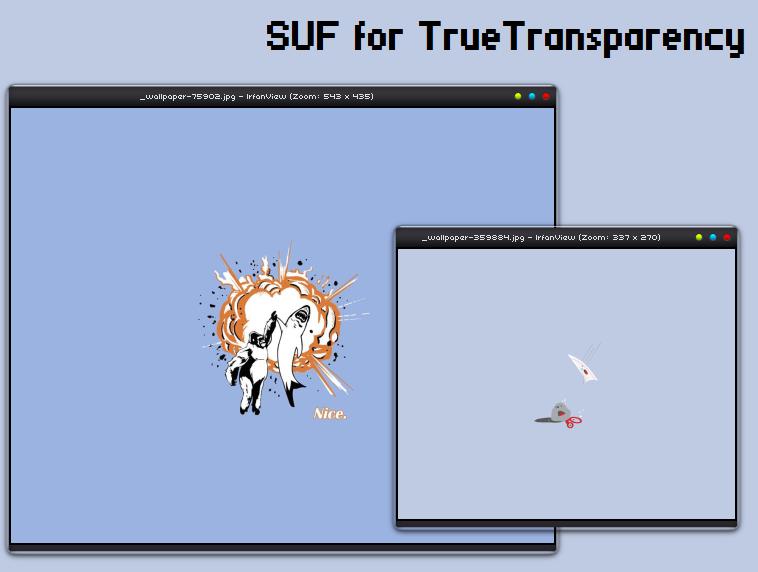 SUF for TrueTransparency by KurayamiShuujin