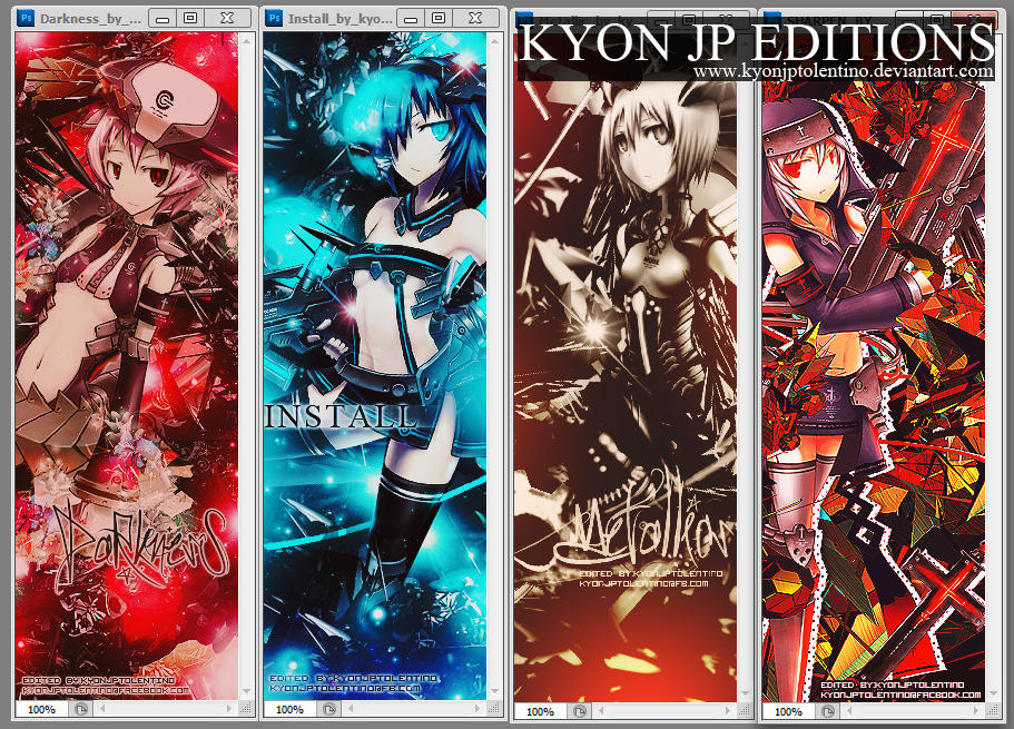 Freebie Pack by Kyon Jp Editions by kyonjptolentino