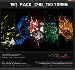1st C4D TEXTURE PACK by kyon Jp Tolentino