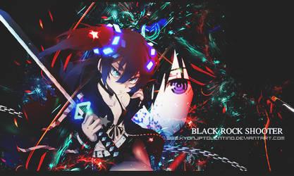 Black rock Shooter GIF by kyonjptolentino by kyonjptolentino