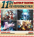 11th PSD Reference Pack by Kyon jp tolentino