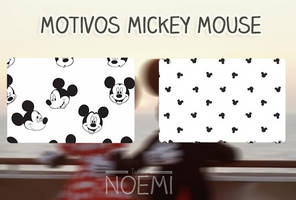 Patterns Mickey Mouse by NoemiTutos