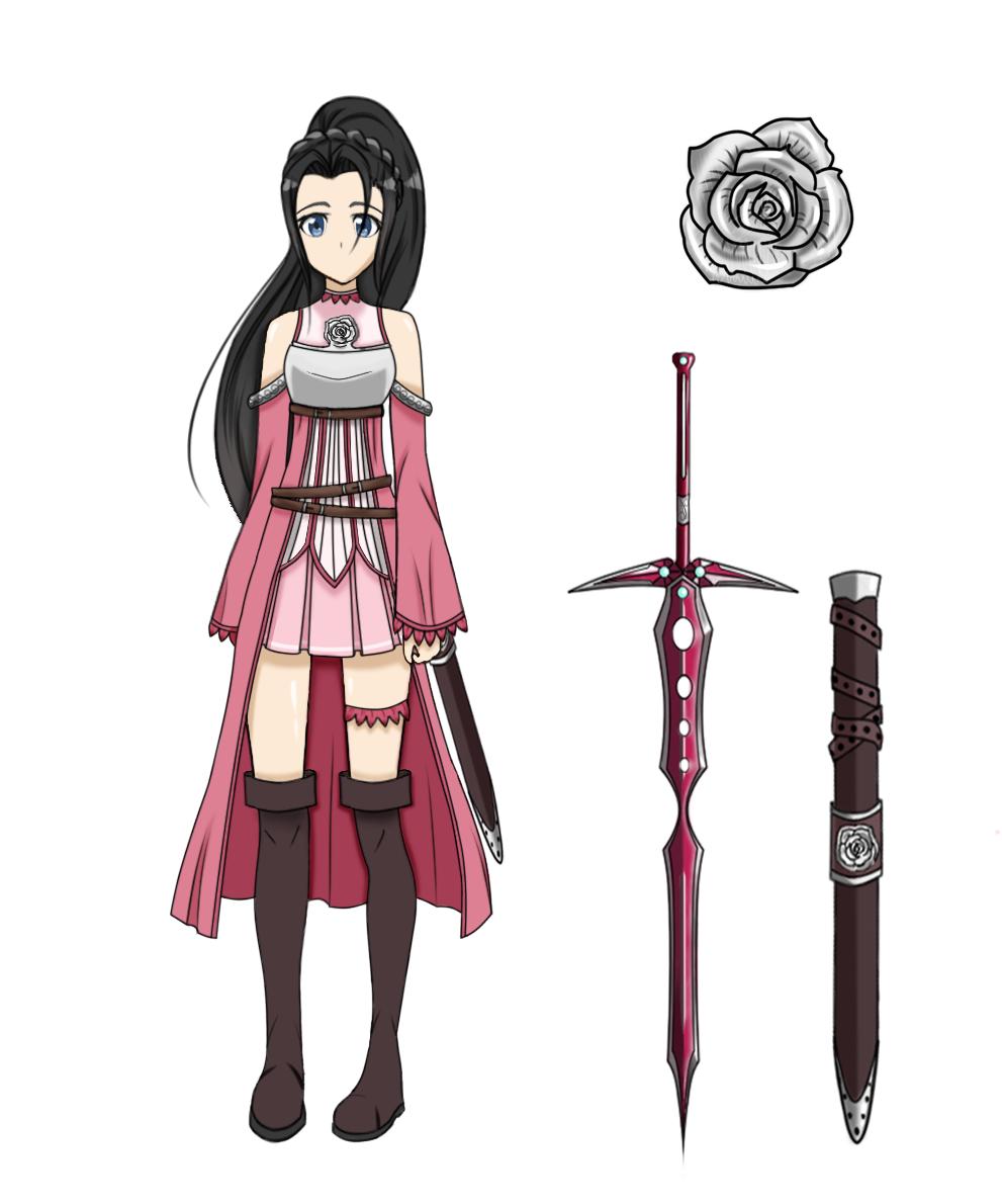 Sword Art Online OC Hanako by Athena,Rose on DeviantArt