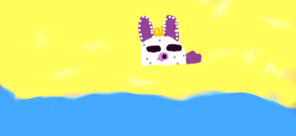 Sea Bun King Aphmau Fan club Beach contest by AphmeowAndArrwolf