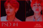 PSD Love Red #4