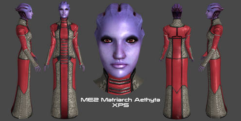ME2 Matriarch Aethyta XPS by Padme4000