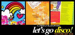 Textures 002 - Le'ts Go Disco