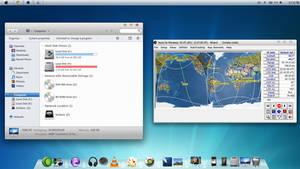 Mac OS X Theme for Win7