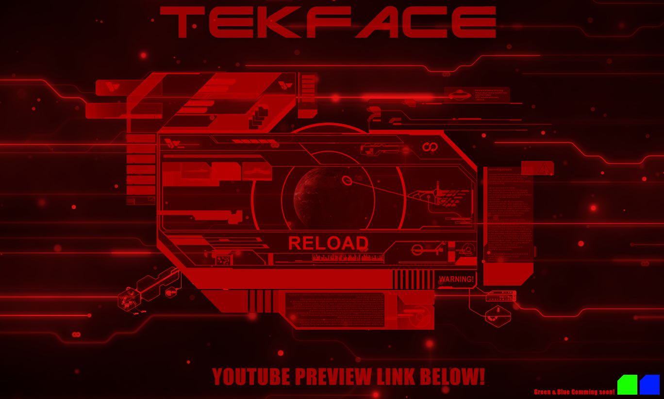 TekFace Rainmeter skin by StArL0rd84